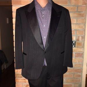 Vintage Christian Dior Pinstripe Suit - Tux